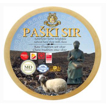 Sheep Cheese Paški Sir PAG Cheese ca. 2500 Gramm