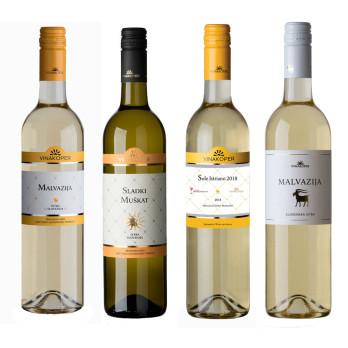 Malvazija Wine pack 4 x 0,75 lt
