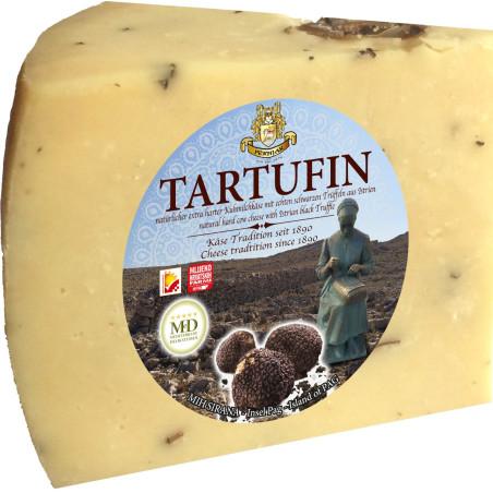 Tartufin Hartkäse Pager Gourmet Käse mit Trüffel  275g bis 400g und Feinkost Versand