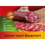 Salami 800g in kind of farmers made