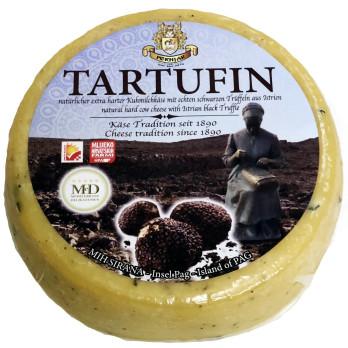 Trüffelkäse Tartufin ca. 2200g Laib Pag Käse mit Feinkost Versand