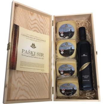 Olive Oil Pag Cheese - PAŠKI SIR Giftbox