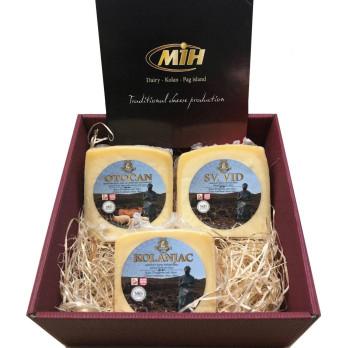 Pag Cheese - PAŠKI SIR Giftbox ca. 1,5 kg
